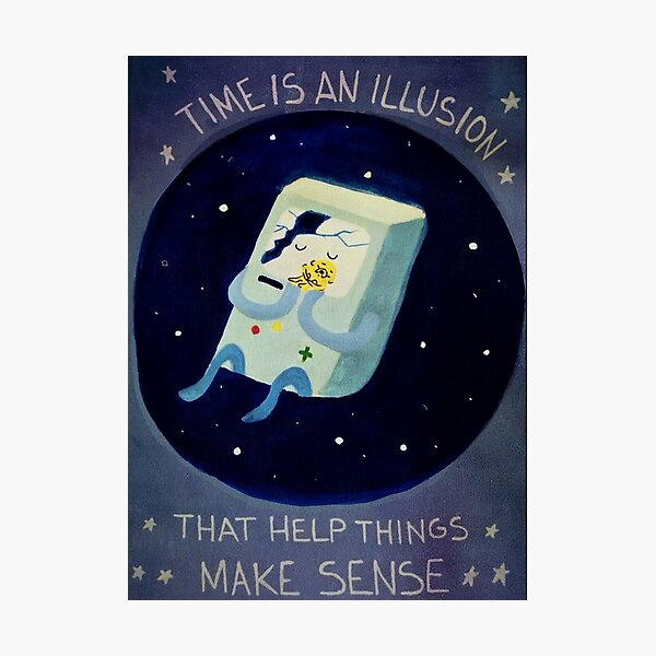 Adventure Time Dictionary Art Print Picture Poster Picture Finn Jake Dog Cartoon