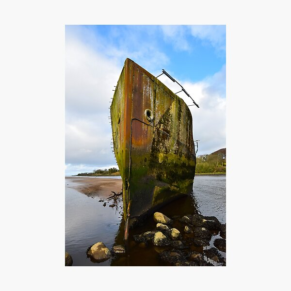 Creteboom Boat on the Moy River in Ballina Photographic Print