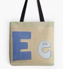 The Letter Ee Tote Bag
