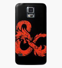 Funda/vinilo para Samsung Galaxy Mazmorras y Dragones (Rojo)