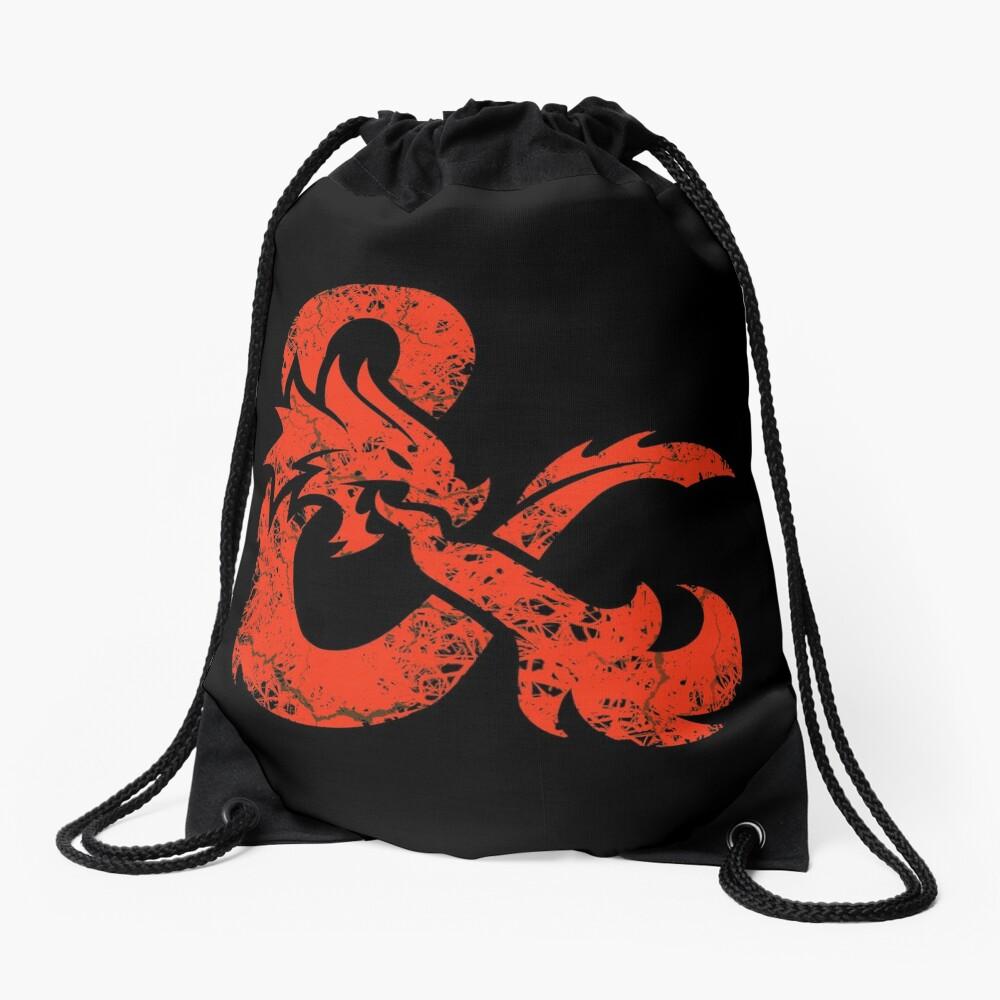 Dungeons & Dragons (Red) Drawstring Bag