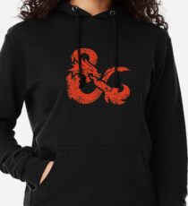 Dungeons & Dragons (Red) Lightweight Hoodie