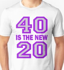 40 Is The New 20 Cougar Town T-Shirt