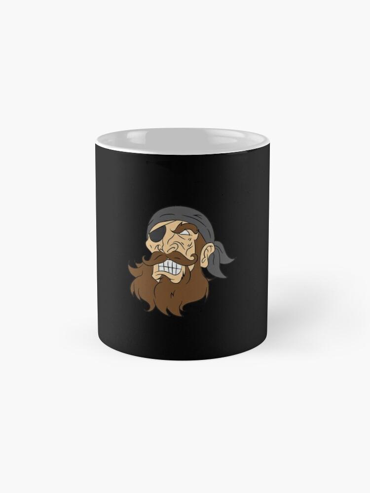 Alternative Ansicht von Pirate pirate head sailor lake gift laugh Tasse