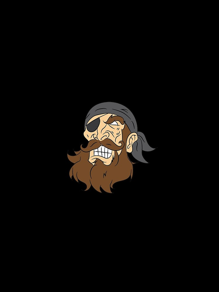 Pirate pirate head sailor lake gift laugh von Zmud4ace