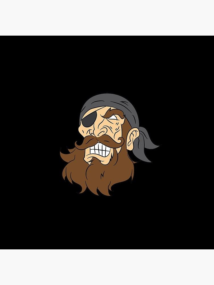 Pirate pirate head sailor lake gift laugh von Zmud4ace