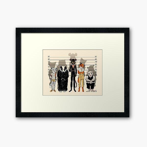 Unusual Suspects Framed Art Print