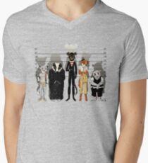 Unusual Suspects V-Neck T-Shirt