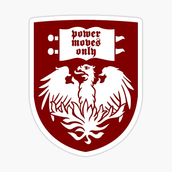 UChicago Power moves only Sticker