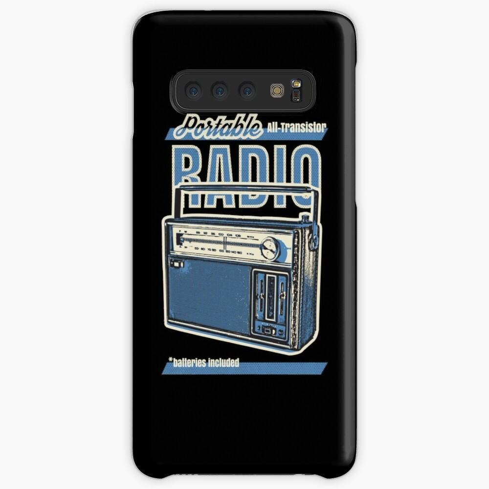 Analogue radio  Case & Skin for Samsung Galaxy