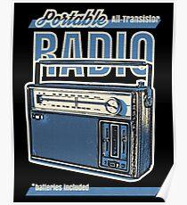 Analogue radio  Poster
