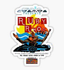 Ruby Rhod LIVE! Sticker