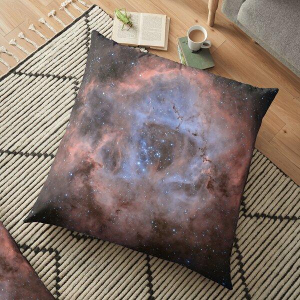 Rosette Nebula Floor Pillow