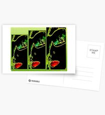 CollageMonAmour(TRIS) Postcards