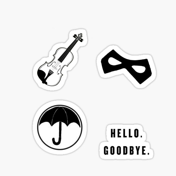 Umbrella Academy Starter Pack Sticker