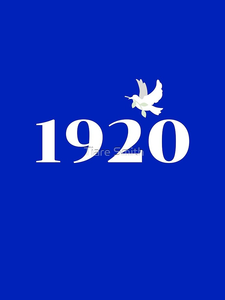 1920 White on Royal Blue by classygirl