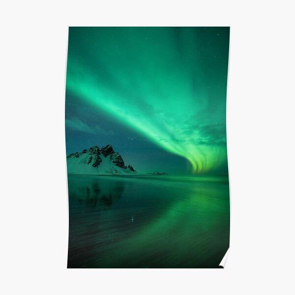 atmosphere, underwater, water, dark, landscape, nature, sea, light - natural phenomenon Poster