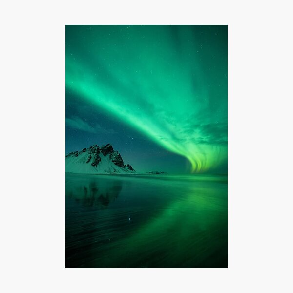 atmosphere, underwater, water, dark, landscape, nature, sea, light - natural phenomenon Photographic Print