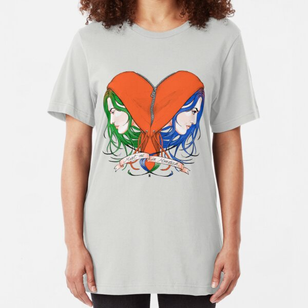 Clementine's Heart Slim Fit T-Shirt