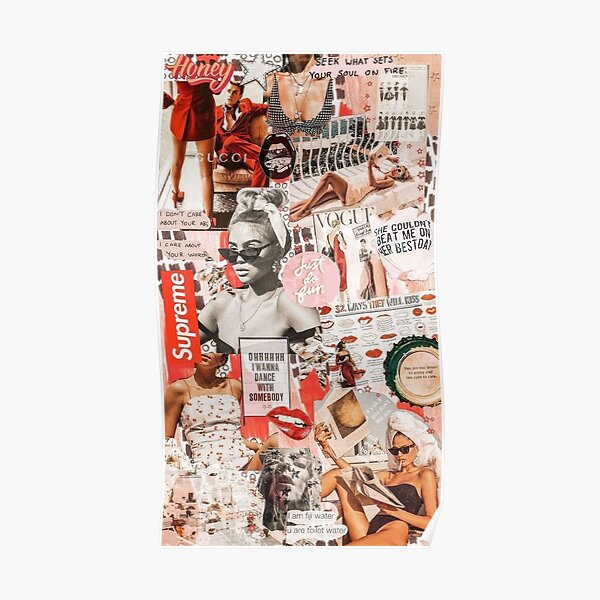 Collage Posters Redbubble