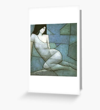 Alcyone Greeting Card