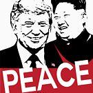 PEACE Summit 2019 President Trump Kim Jong un  by IconicTee
