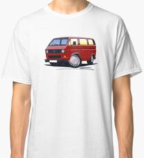 VW T25 / T3 D.Red Classic T-Shirt