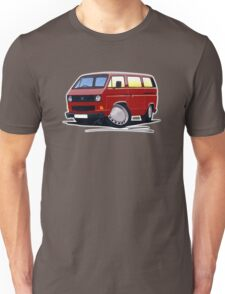 VW T25 / T3 D.Red Unisex T-Shirt