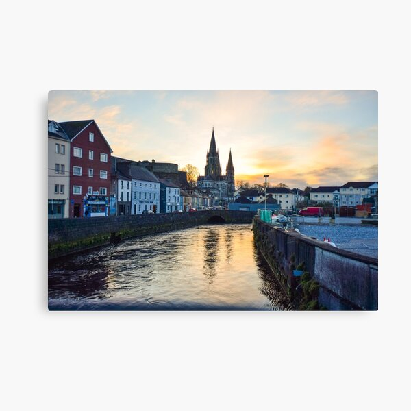 St Finbarr's Cathedral, Co. Cork. Canvas Print