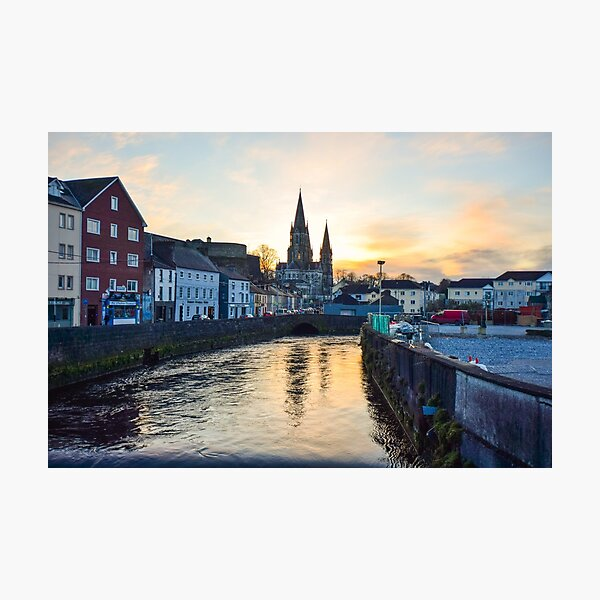 St Finbarr's Cathedral, Co. Cork. Photographic Print