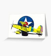 """""""Air Force Starduster"""" Greeting Card"""