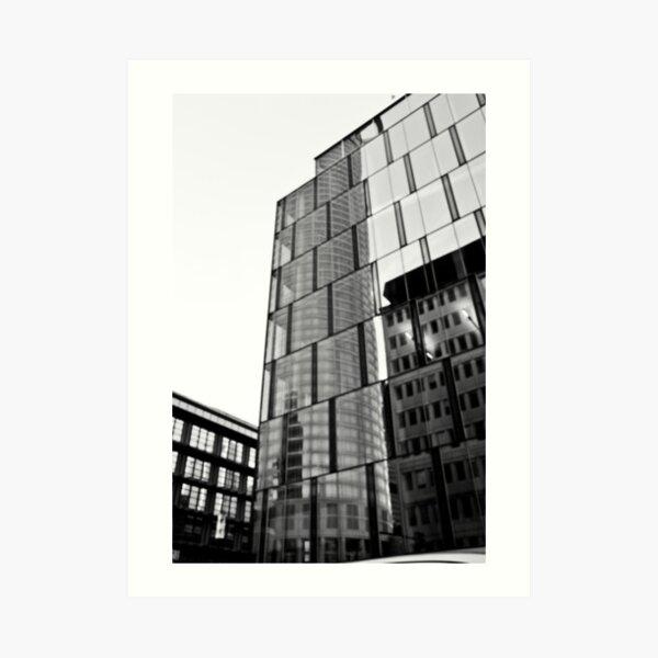 Frankfurt CityLights Art Print