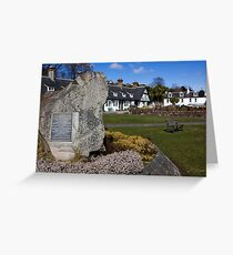 The Arran Clearances Greeting Card