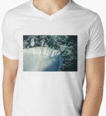 Flying Over Icy Niagara Falls T-Shirt