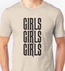 Camiseta ajustada Motley - Chicas Chicas Chicas - Crue - Negro