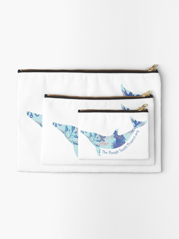 Alternate view of Calming Coral Core Zipper Pouch