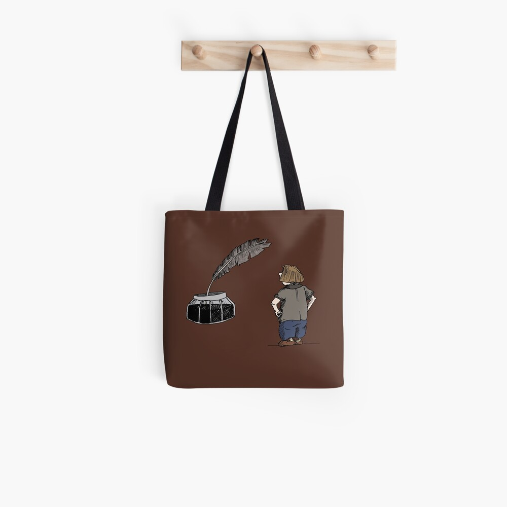 Feather & hourglass Tote Bag