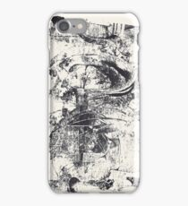 Monkey Dream #2 - Series of 5 Monotypes - iPhone Case/Skin