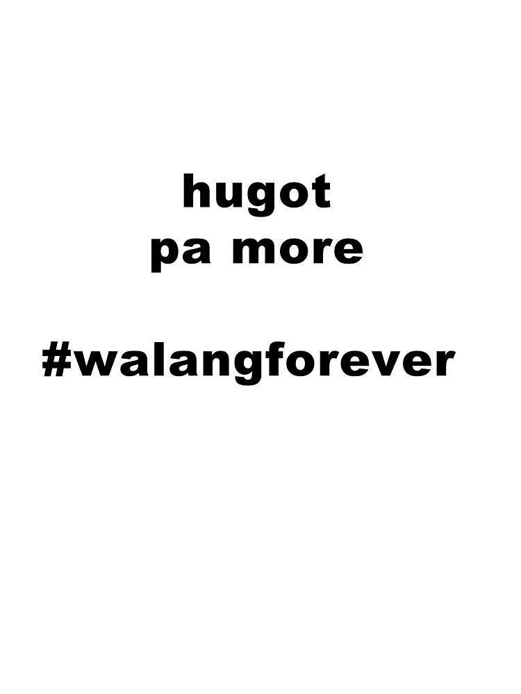 Hugot pa more by ryekis