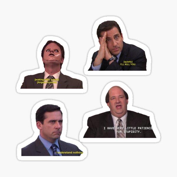 pack d'autocollants de bureau emblématique Sticker