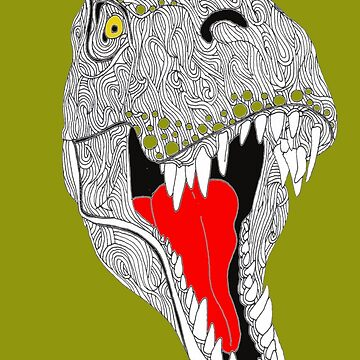 Hungry T Rex by Surrealist1
