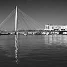 Southport suspension bridge by Tony  Glover