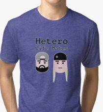 Hetero Life Mates Tri-blend T-Shirt