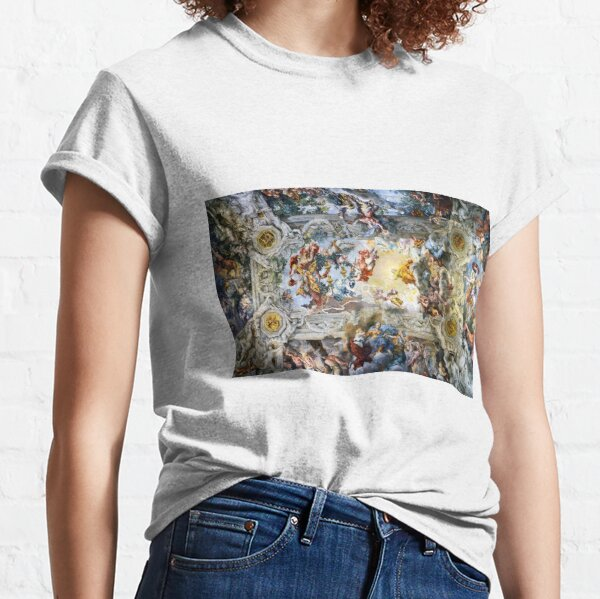 Allegory of Divine Providence and Barberini Power by Pietro Cortona (1639) Classic T-Shirt