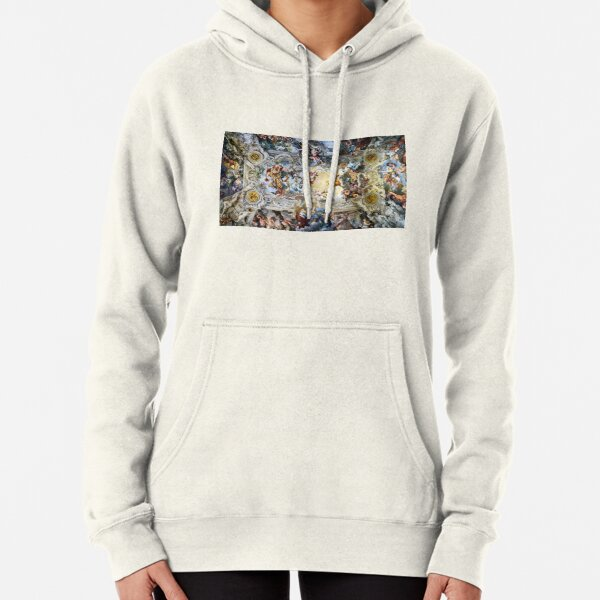 Allegory of Divine Providence and Barberini Power by Pietro Cortona (1639) Pullover Hoodie