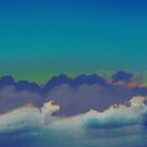 Sea Meets Sky by DExPIX