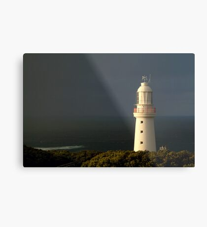 Sunrise Rain, Cape Otway Light Station Metal Print