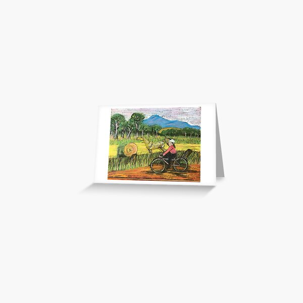 Journey Horse Greeting Card