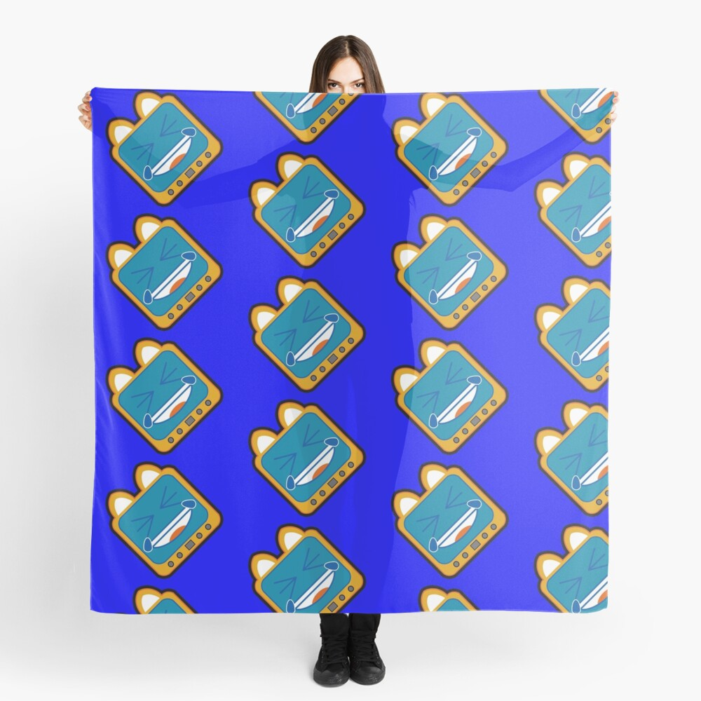 Television Kitty LOL5 Scarf