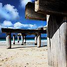 Jetty Ruins by Sheldon Pettit